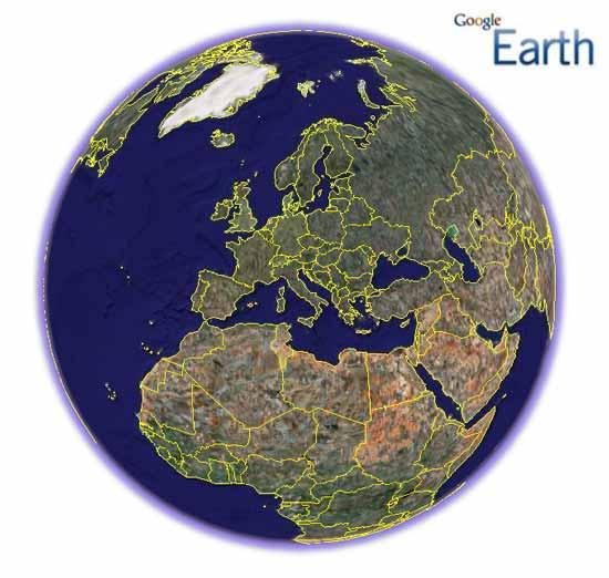 Google Earth و نرم افزار آيفون
